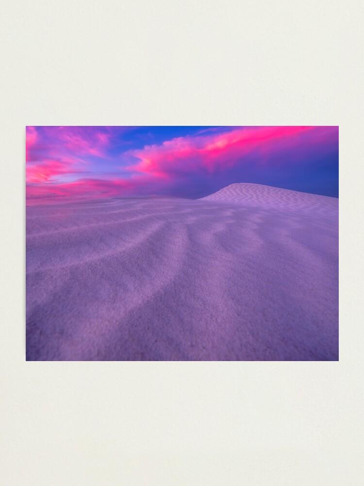 Alternate view of Esperance Dunes Sunset Photographic Print