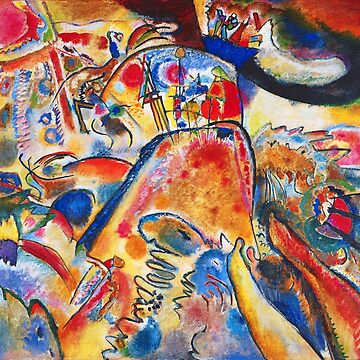 Vintage Wassily Kandinsky Small Pleasures 1910 by AllVintageArt