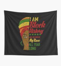 Ich bin schwarzer Geschichtsmonat Afrikanerin Wandbehang