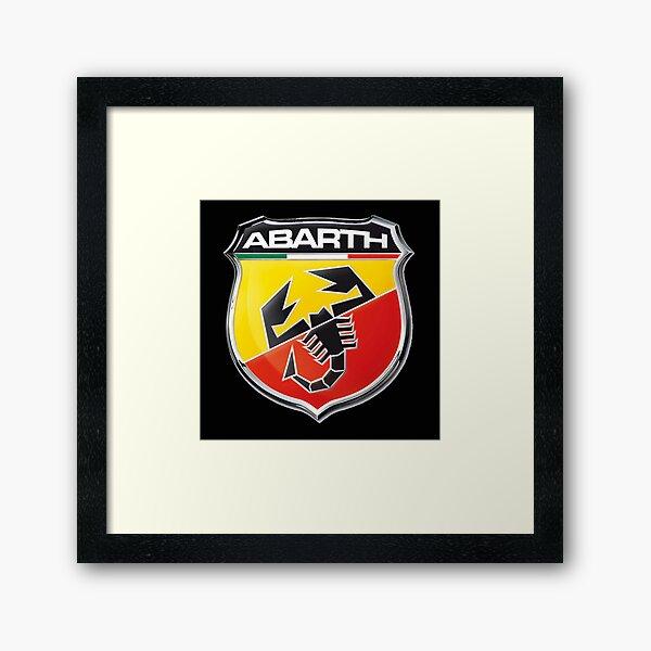 Abarth Logo Framed Art Print