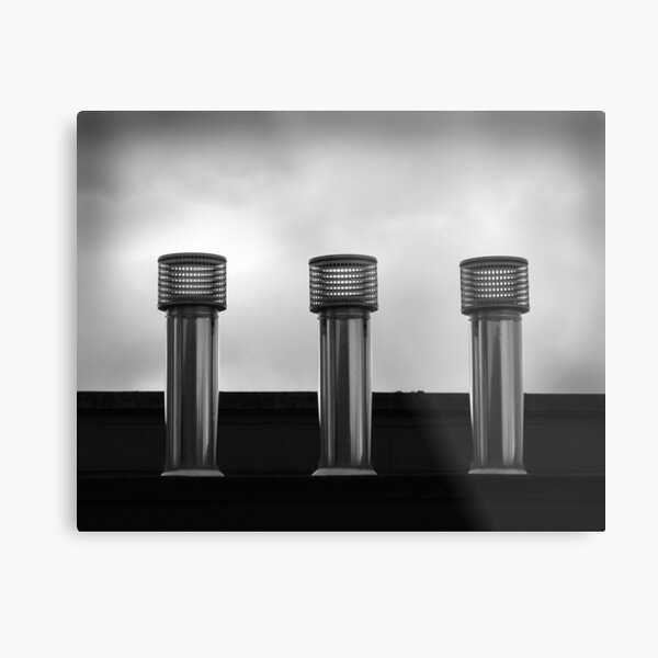 Three Stacks Metal Print