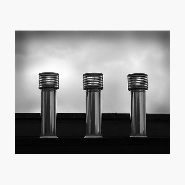 Three Stacks Photographic Print