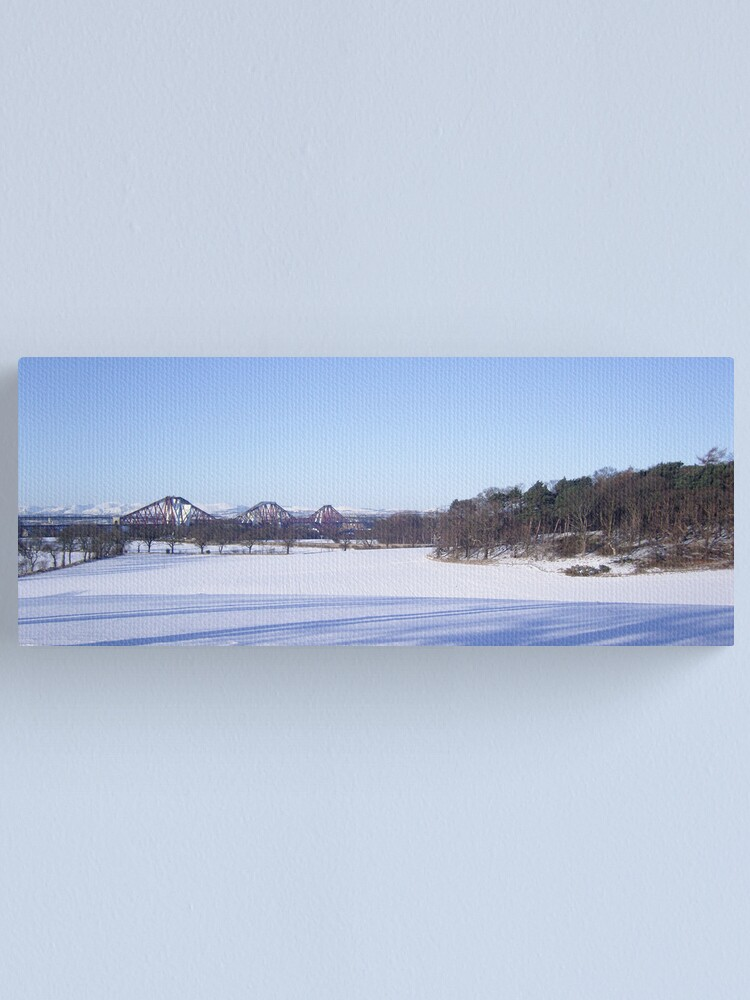 Alternate view of Winter Bridge Canvas Print