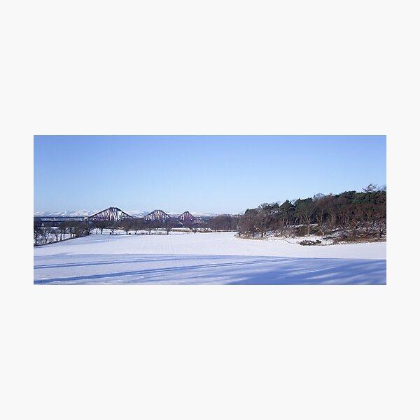 Winter Bridge Photographic Print