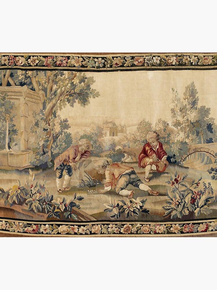 Aubusson  Antique French Tapestry Print by bragova