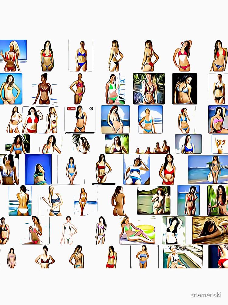 #cartoon #art #collection #vector #fashion #illustration #people #design #leisuregames #merchandise #industry #leisureactivity #recreationalpursuit #inarow #groupofobjects #arranging #women #girls by znamenski