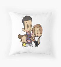 Shop The ACE Family - Cartoon  Throw Pillow