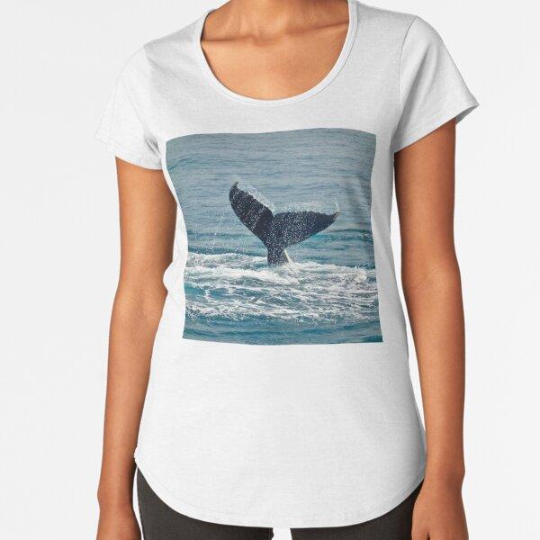 Whale Play Premium Scoop T-Shirt