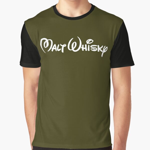 Malt Whisky (There is no E in Malt Whisky!) Graphic T-Shirt