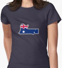 Mount Panorama Circuit Women's Fitted T-Shirt