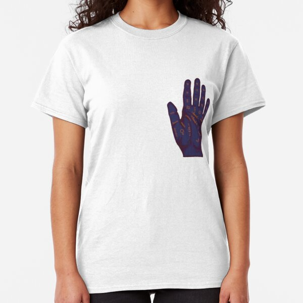 Hand Fortune Lines | Palm Reading Classic T-Shirt