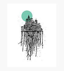 City Drips #2 Photographic Print