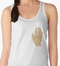 Hand Fortune Lines | Palm Reading Women's Tank Top