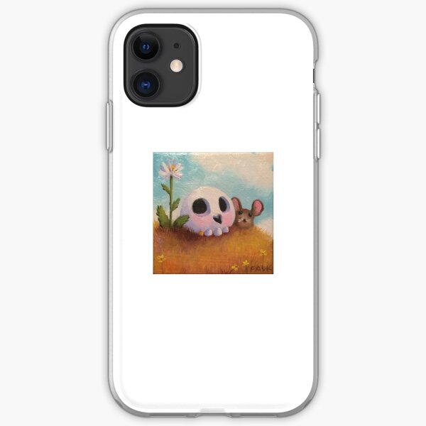 Silence is golden iPhone Soft Case