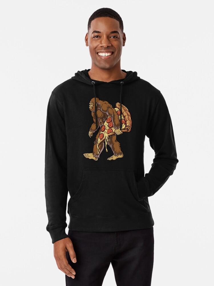 5f101b968 Bigfoot Pizza T shirt Kids Boys Sasquatch Food Lovers Gifts Lightweight  Hoodie