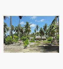 an awe-inspiring Kiribati landscape Photographic Print