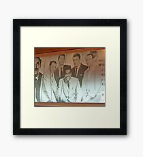 The Rat Pack Sailed, Too! Framed Print