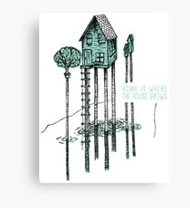 House, Home Canvas Print