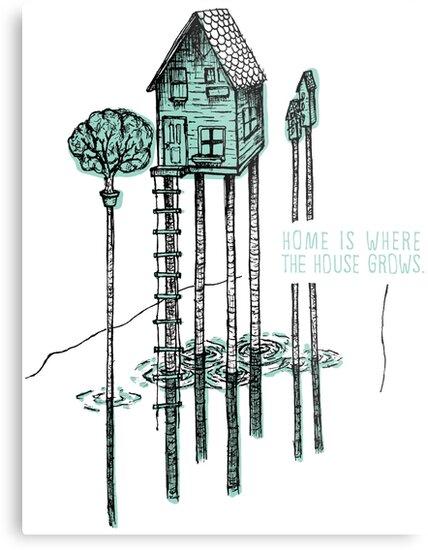 House, Home by ZachHoskin