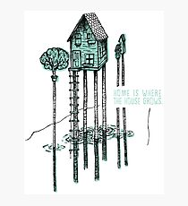 House, Home Photographic Print