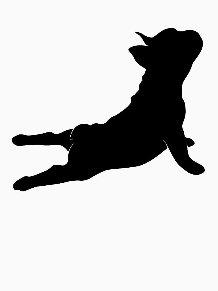 'French Bulldog Yoga' Cool Yoga Bulldog  by leyogi
