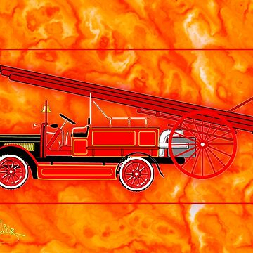 1914 Dennis Fire Engine by ZipaC