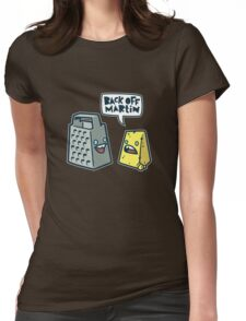 Back Off Martin! Womens Fitted T-Shirt