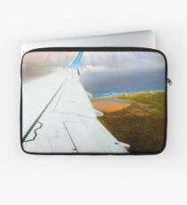 View from the airplane window Laptop Sleeve