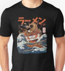 The Great Ramen off Kanagawa Slim Fit T-Shirt