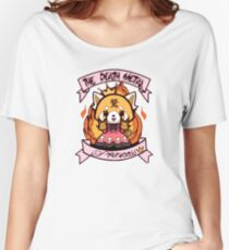 aggretsuko Women's Relaxed Fit T-Shirt