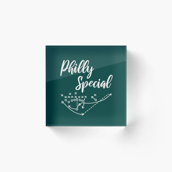 Philly Special Acrylic Block
