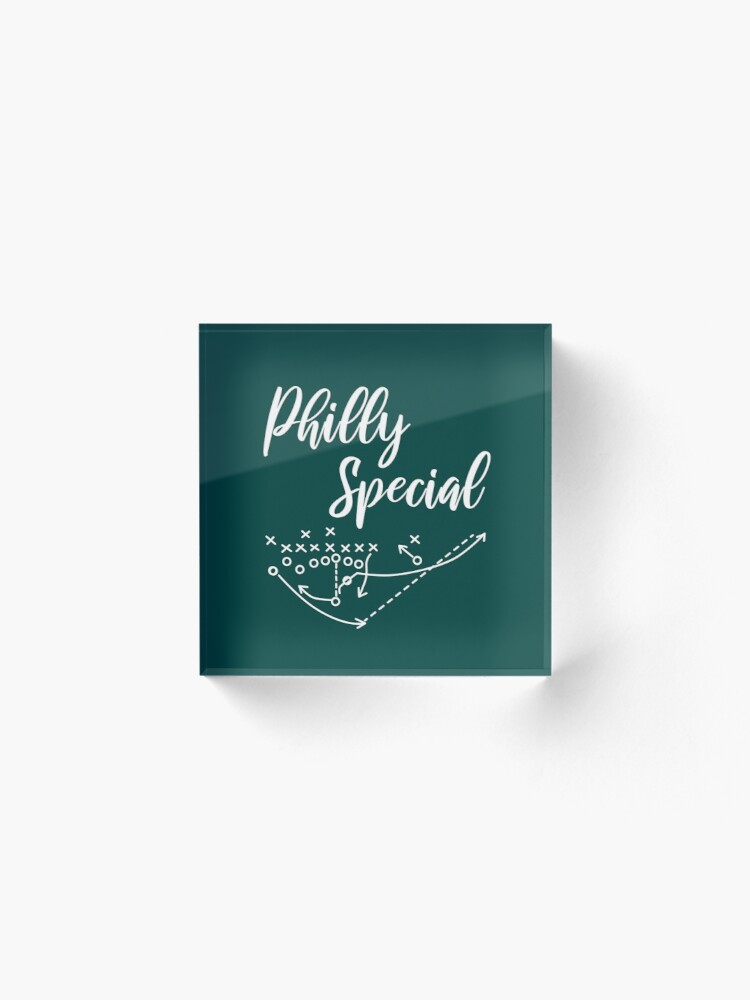 Alternate view of Philly Special Acrylic Block