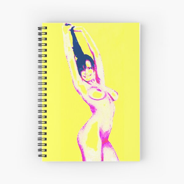 #naked #shape #adult #pose #young #women #thehumanbody #bodypart #girls #beauty #sensuality #sexsymbol #slim #cutout #beautifulpeople #healthylifestyle #wellbeing #people #fashionmodel #square Spiral Notebook