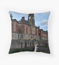 Britannia Royal Naval College Throw Pillow