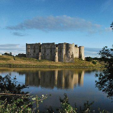 Carew Castle by spottydog06