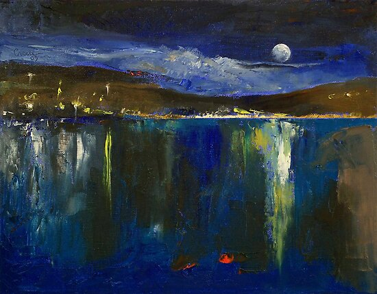 Blue Nocturne by Michael Creese
