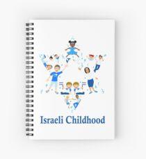 Israeli Childhood Spiral Notebook