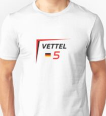 F1 2015 - #5 Vettel [v2] T-Shirt