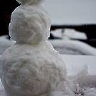 Snow man by Alice Oates
