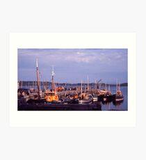 Killybegs Harbour, Donegal, Ireland, cira 1959 Art Print