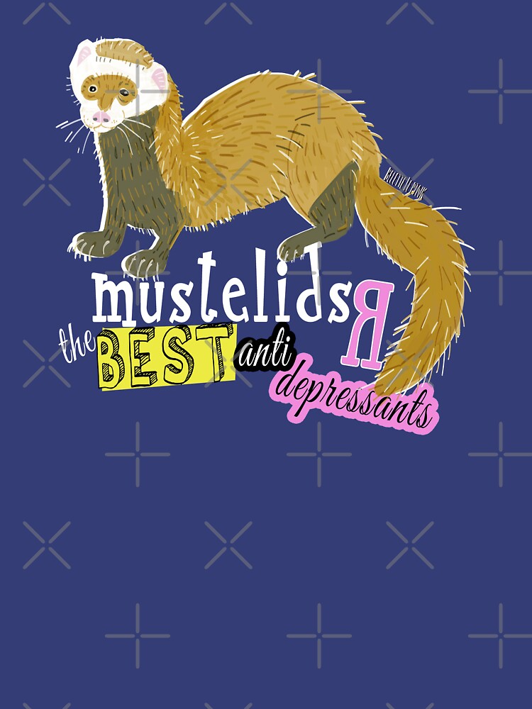 Mustelids are The best antidepressants by belettelepink