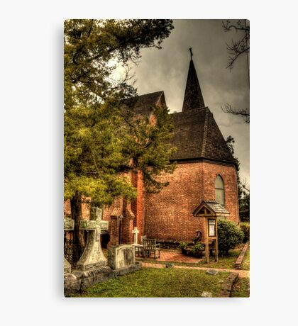 Lutheran Church in Plymouth Canvas Print