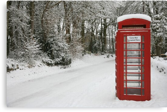 The Telephone box by Jeff  Wilson
