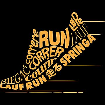 Funny Running Shirt Run Worldwide Cool Gift For Runners by WWB2017