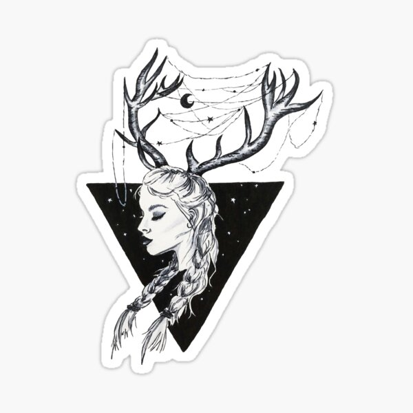 Queen of Terrasen Sticker