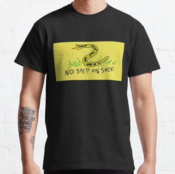 NO STEP ON SNEK Classic T-Shirt