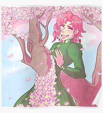 Noriaki Kakyoin - Goodbye, Cherry Boy Poster