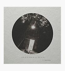 Bukowski #1 Photographic Print