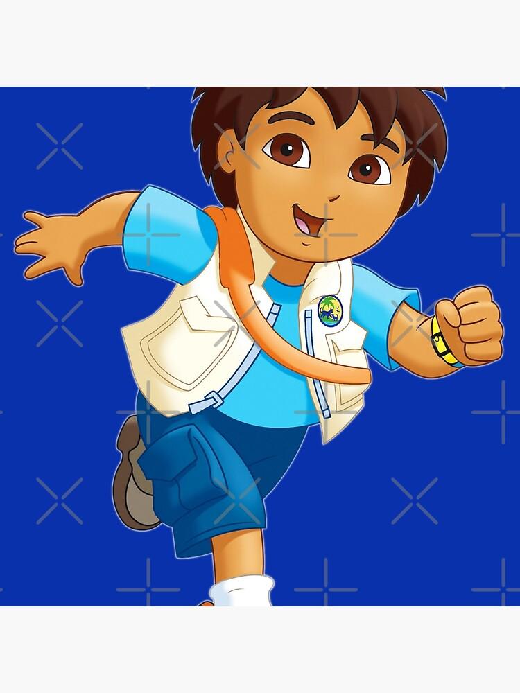 Diego from DORA THE EXPLORER!