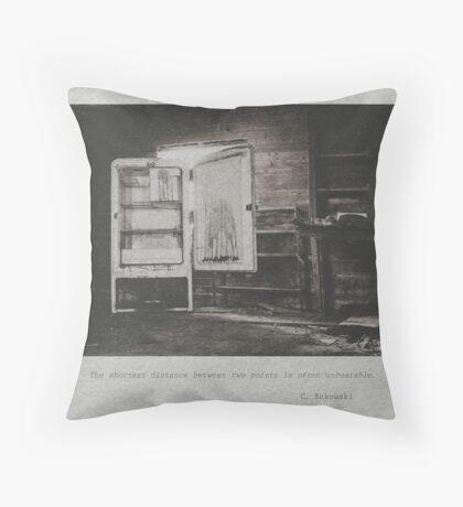Bukowski #2 Throw Pillow